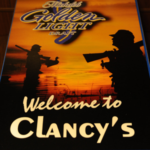 Welcome to Clancy's